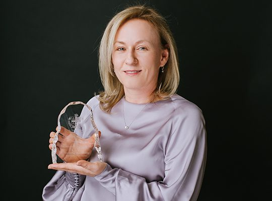 Council Award recipient, Dr. Michelle Hladunewich
