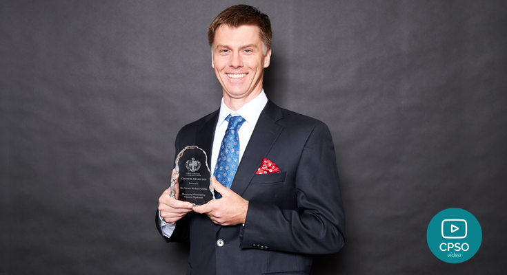 Dr. Steven Griffin, Council Award recipient