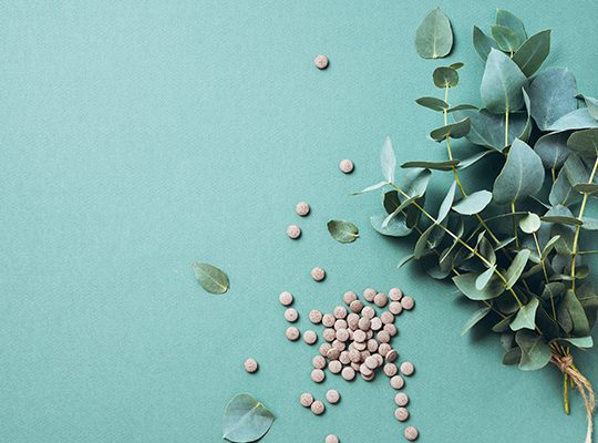 PHoto of herbs and pills